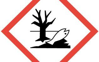 pictograma peligro para el medio ambiente